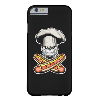 Fat Chef Skull v6 Barely There iPhone 6 Case