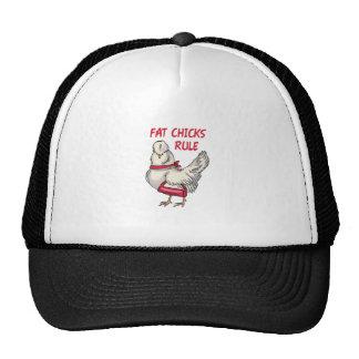 Fat Chicks Rule Mesh Hats
