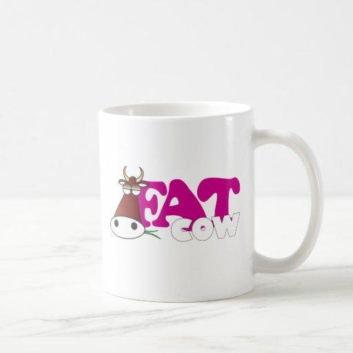 Fat Cow Coffee Mug