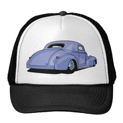 Fat Fendered Hot Rod Mesh Hats