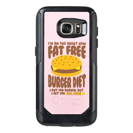 Fat Free Burger Diet OtterBox Samsung Galaxy S7