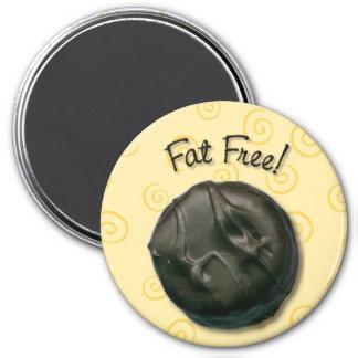 Fat Free Lemon Cream 7.5 Cm Round Magnet