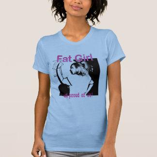 Fat Girl Logo T Shirt