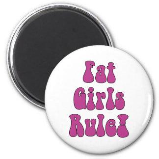Fat Girls Rule Magnet