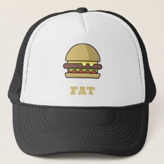 Fat Hamburger Trucker Hat