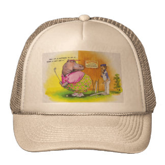 fat hippo golf cap