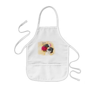Fat hippo kids apron