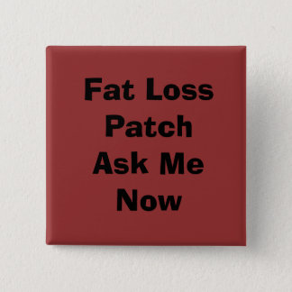 Fat Loss PatchAsk Me Now 15 Cm Square Badge