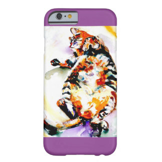 """Fat Napper"" Cat Print Barely There iPhone 6 Case"