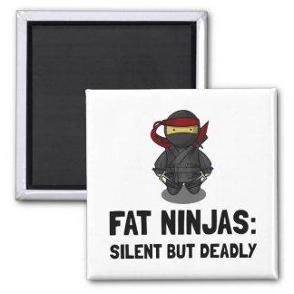 Fat Ninja Magnet