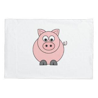 Fat Pink Piggy Pillowcase