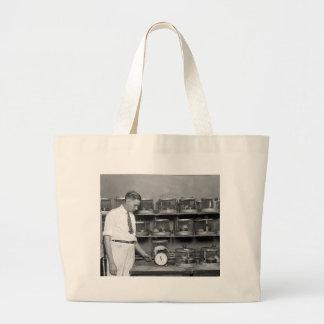 Fat Rat, 1920s Jumbo Tote Bag