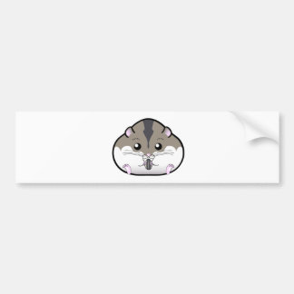 Fat Russian Dwarf Hamster Bumper Sticker