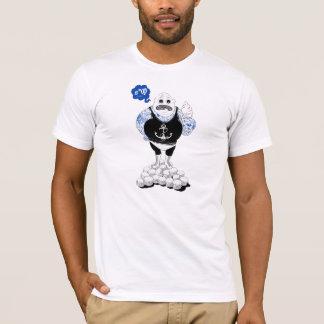 Fat Tattooed Wrestler T-Shirt