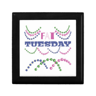 Fat Tuesday Small Square Gift Box