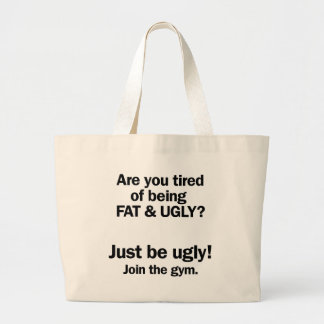 Fat & Ugly Tote Bags