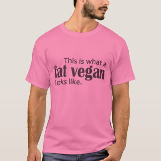 Fat Vegans (Gray) T-Shirt