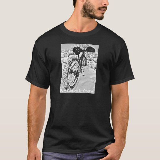Fat Where It Counts T-shirt for bikers