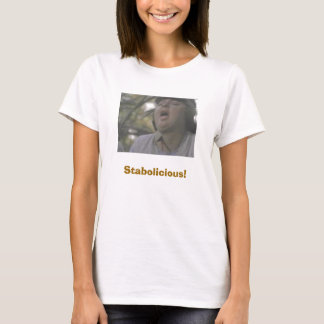fat women with banana, Stabolicious! T-Shirt