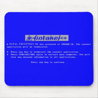 Fatal Exception 06 Mousepad