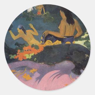 'Fatata Te Miti' - Paul Gauguin Sticker