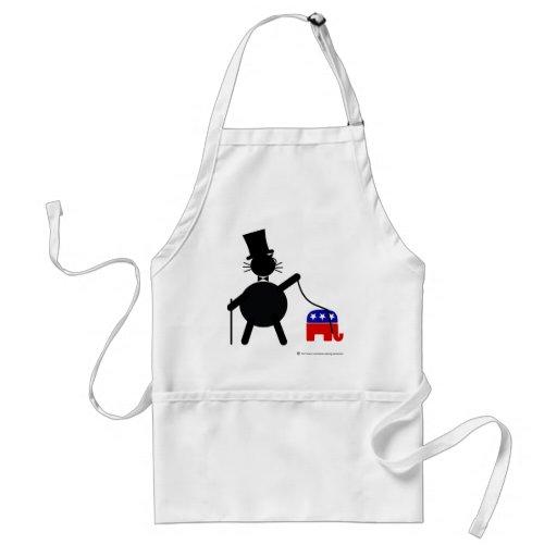 Fatcat and Republican Elephant Apron