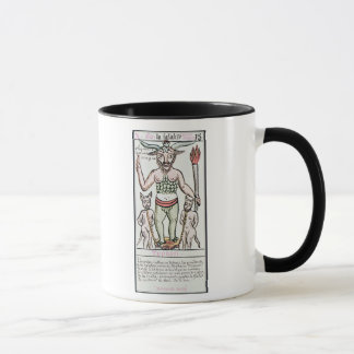 Fate, tarot card, French Mug