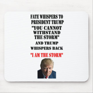 FATE WHISPERS TO PRESIDENT TRUMP MOUSE MAT