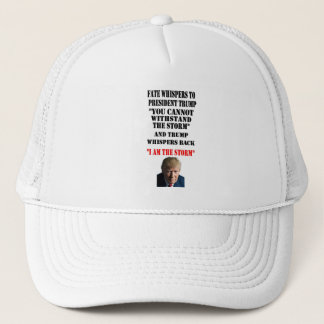 FATE WHISPERS TO PRESIDENT TRUMP TRUCKER HAT