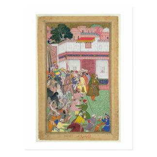 Fatepur Sikiri, 1573: Hasain Quli Khan-l Jahan pre Postcard