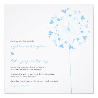 fatfatin Dandelions Love 01 Wedding Invitation Invitations