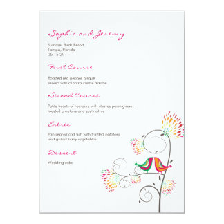 Browse Zazzle Wedding Menu templates and customise with your own text, photos or designs.