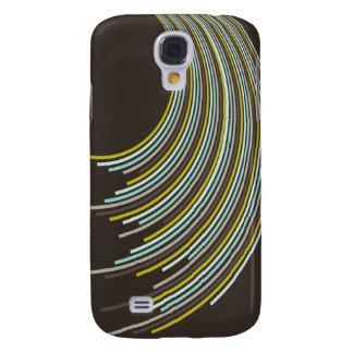 fatfatin Party Curvy Stripes 05 ®  Galaxy S4 Case