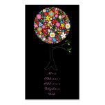 fatfatin Spring Flowers Pop Tree Businesscard Business Card