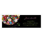 fatfatin Spring Flowers Pop Tree Businesscard Business Card Template