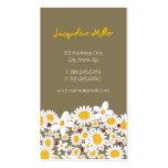 fatfatin White Daisies & Ladybugs Profile Card
