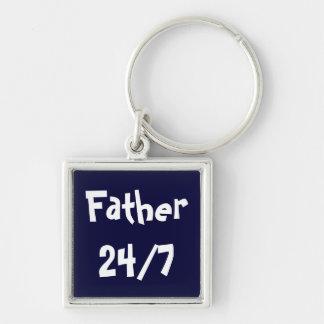 FATHER 24 7 KEYCHAIN