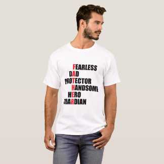 Father Acrostic T-Shirt