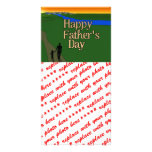 Father And Child - Father's Day Picture Card