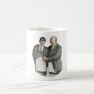 Father and Son Coffee Cup Basic White Mug