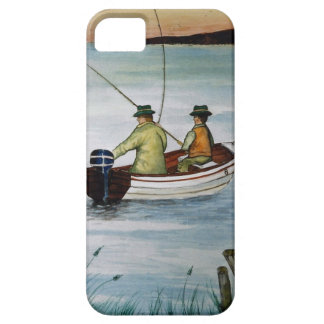 Father and son fishing trip case for the iPhone 5