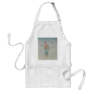 Father and Son Standard Apron