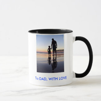 father-and-son, To:DAD, WITH LOVE Mug