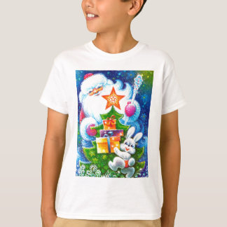Father Christmas and bunny Tshirt