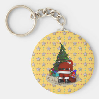 Father Christmas and the Christmas Tree Keychains