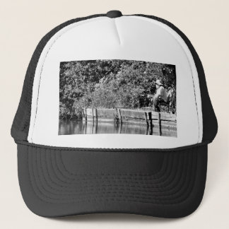 Father Christmas day off Trucker Hat