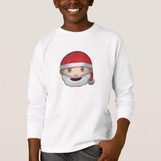 Father Christmas Emoji T-Shirt