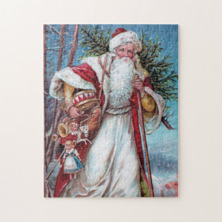 Father Christmas On His Way Puzzle