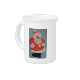 Father Christmas Pitcher