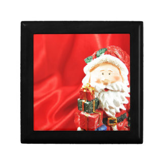 Father Christmas Small Square Gift Box